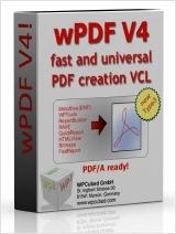 wPDF - PDF creation VCL