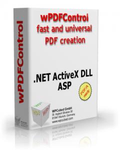wPDFControl V4