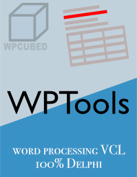 VCL component for RTF word processing with Delphi / BCB