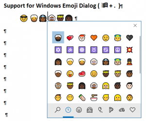 WPTools 9.1 includes support for Emoji